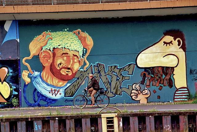 Kunst - Street Art - Urban Art - Graffiti in Saarbrücken