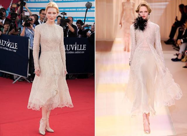 Cate Blanchett in Armani Prive  - Deauville American Film Festival Opening Ceremony