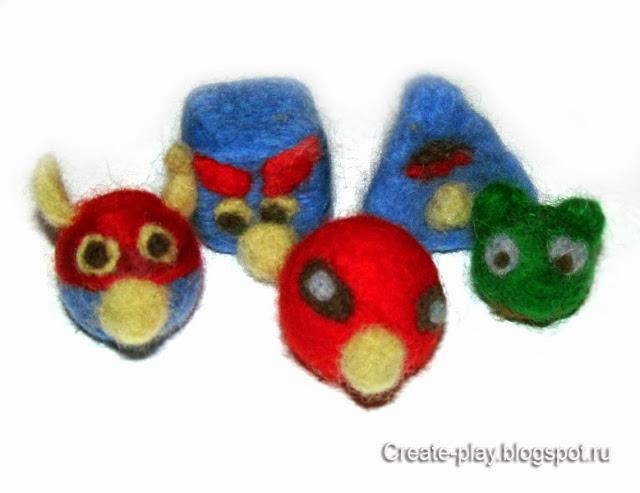 Аngry birds своими руками