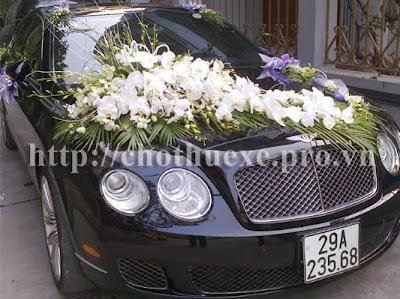 Cho thuê xe cưới VIP Bentley F.spur V12 đen