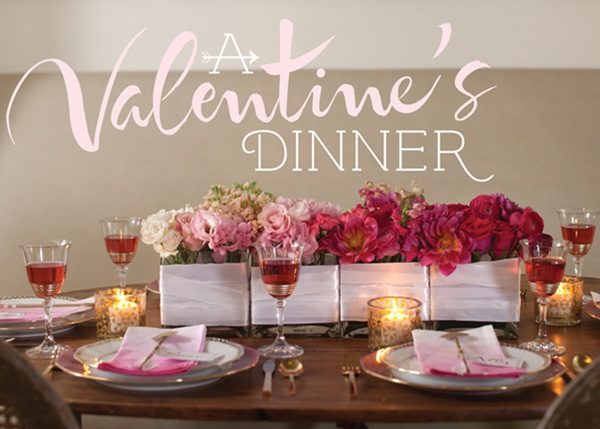 Estilo on especial dia dos namorados surpresas criativas for Valentine day dinner party ideas