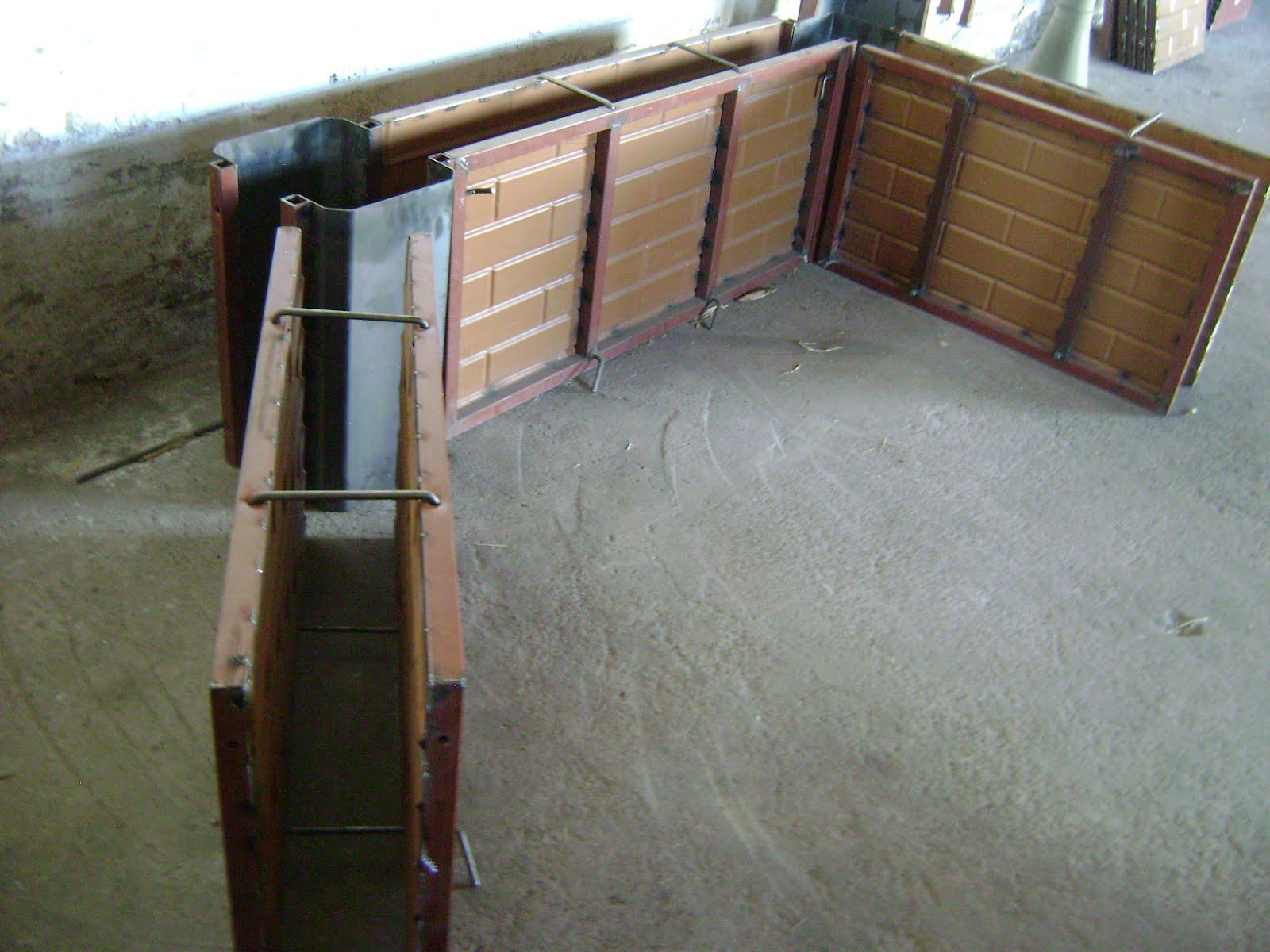 Maquinaria agricola industrial formas de concreto para for Precios de construccion