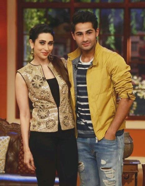 Karisma Kapoor with cousin Armaan Jain