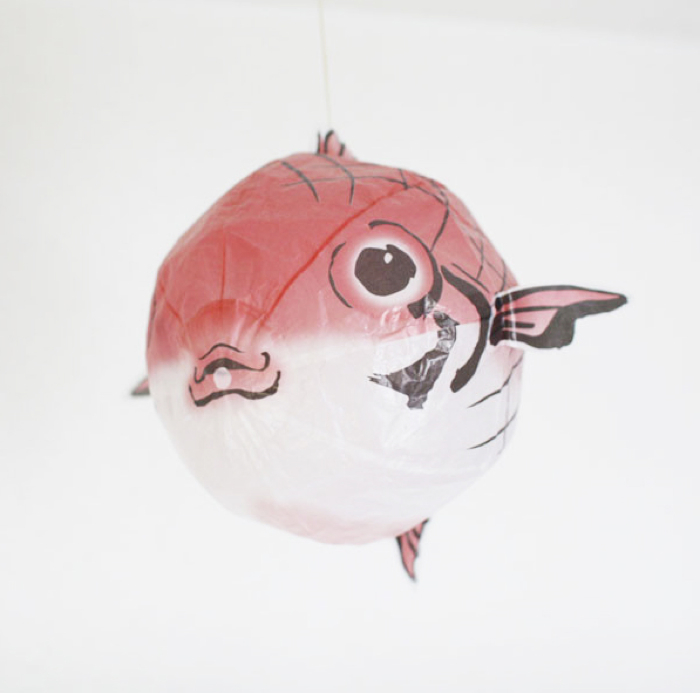 fish japanese paper balloon
