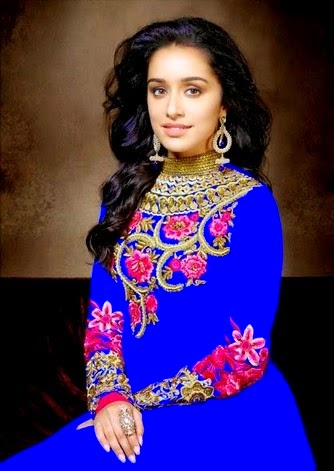 Shraddha Kapoor Anarkali Dresses 2014