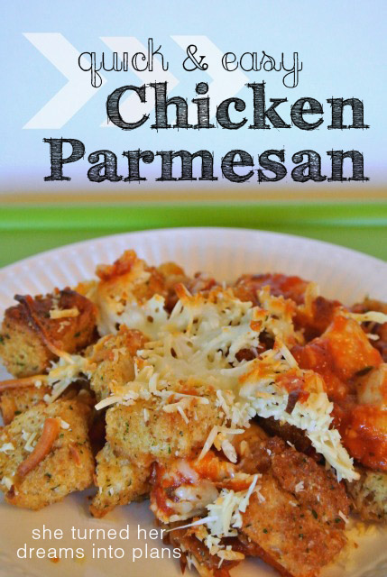 Quick & Easy Chicken Parmesan
