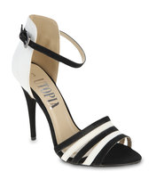 utopia contrast ankle strap heel, heeled sandals black, contrast heel sandals, utopia ankle strap, utopia heeled sandals, zando.co.za, zando shoes, utopia shoes, south african online shopping