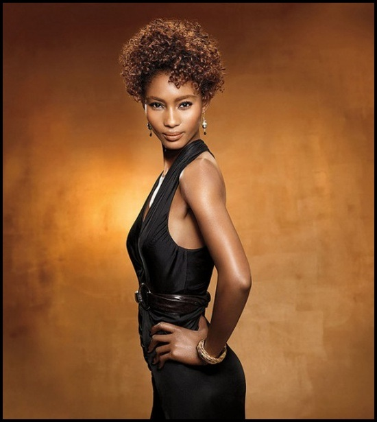Short Curly Hairstyles for Black Woman