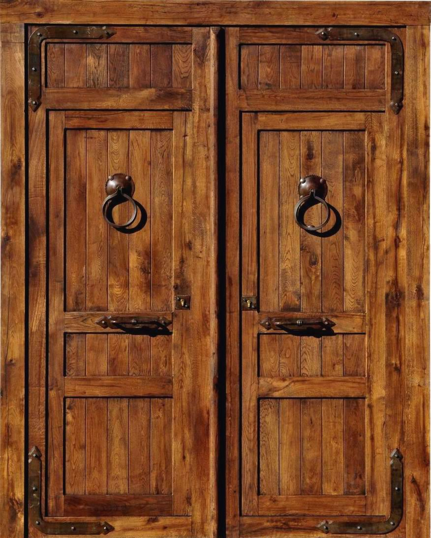 Puertas de madera imagenes car interior design for Imagenes de puertas de madera