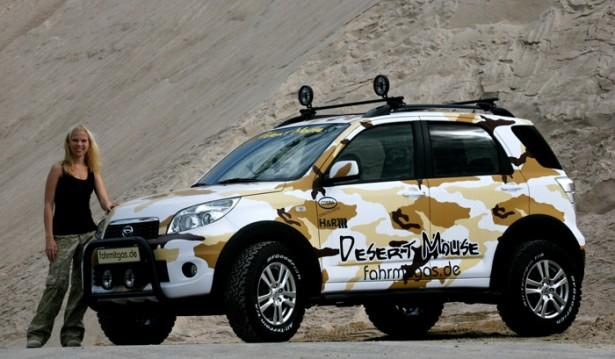 Daihatsu Terios Modif Modifikasi Mobil Daihatsu Terios Bergaya Off Road