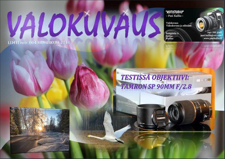 VALOKUVAUS-LEHTI 2014/04