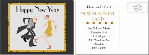 Beautiful Chinese New Year Party Invitation Template
