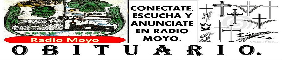 Radio Moyo : OBITUARIO