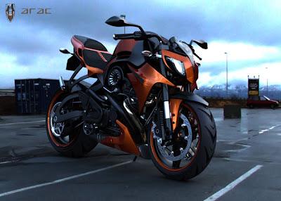 Konsep Motor ARAC ZXS Sporty