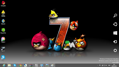 Angry Birds Windows 8 Theme