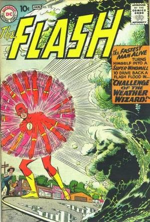 The Flash #110 comic book cover