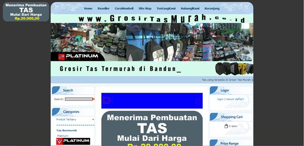 Grosirtasmurah.co.id Jual Tas dengan Harga Grosir