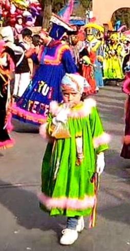 Toca turno al Carnaval de Xochimilco