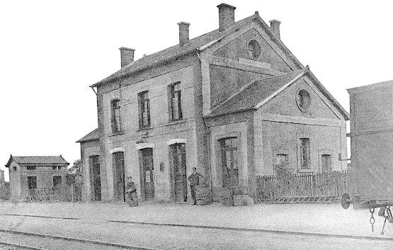 La gare de Montebourg
