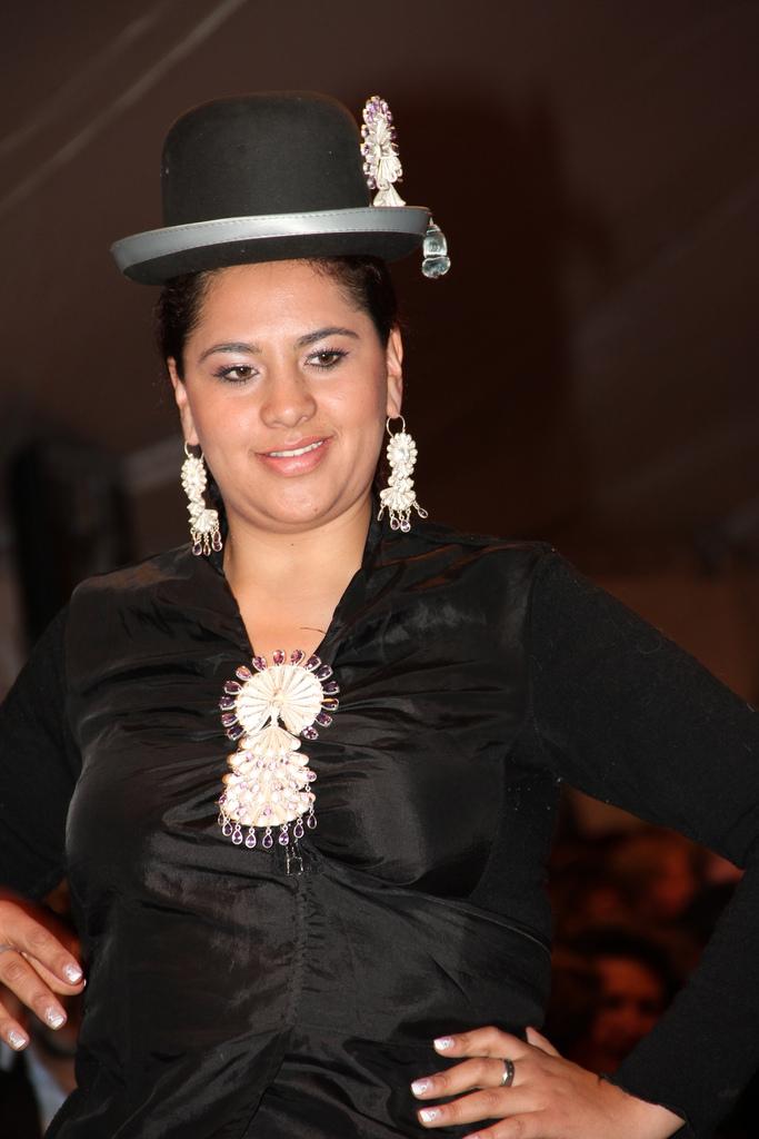 La Chola Boliviana  La Misma Chola Con Diversas Polleras La Chola De
