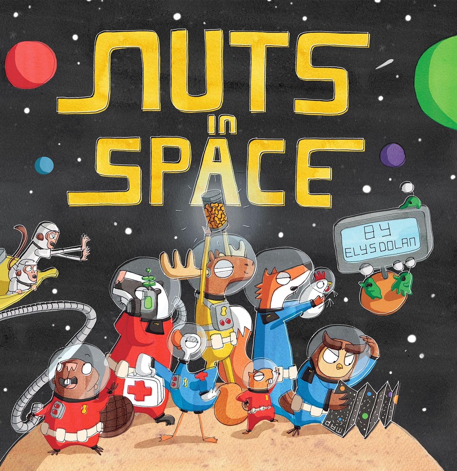 Elys Dolan: Nuts in Space!