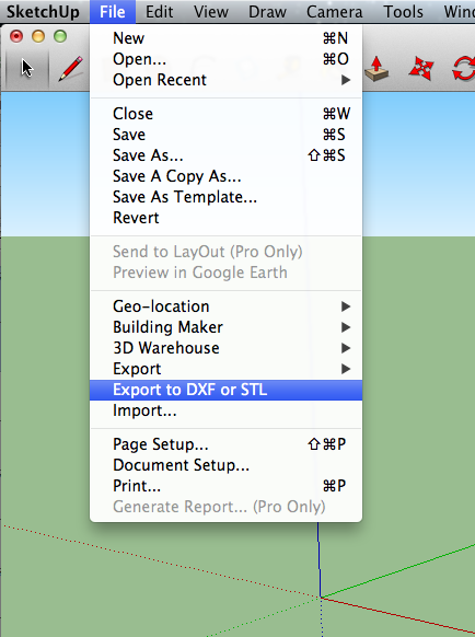 Tales Of A 3d Printer Converting Sketchup To Stl Files
