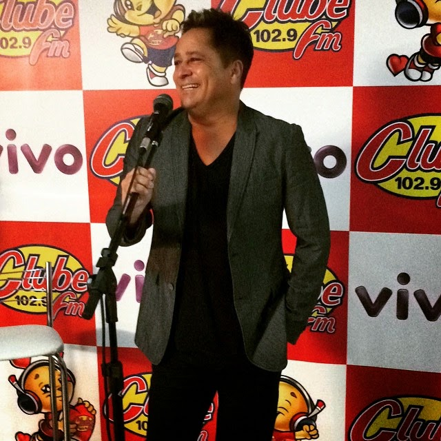 clube fm Goiania  Happyhourclube com Leonardo 12 03 2015