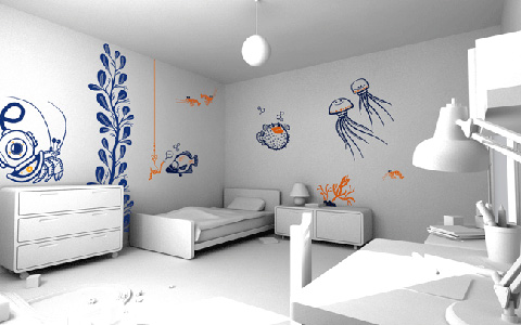 Selecting the best wall decor for your home interior design house interior decoration for Interior wall decoration ideas