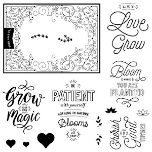 January Stamp of the Month: Bloom & Grow