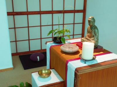 Vivianayoga como hacer un altar budista en casa - Meditar en casa ...