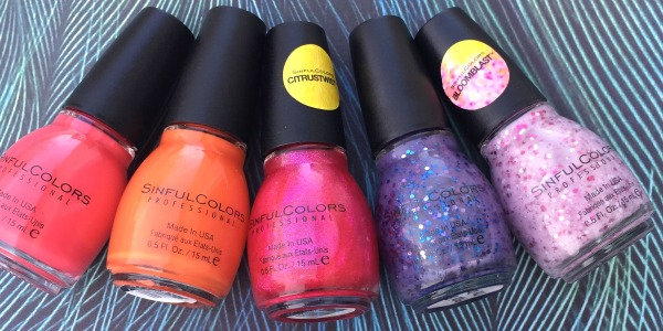 sinful color spring fever swatches