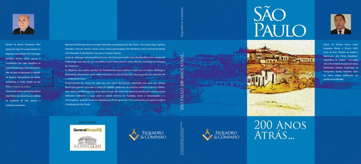 """Livro """"São Paulo - 200 Anos Atrás"""""""