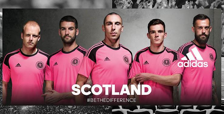 Nuevas camisetas adidas de la Selección de Escocia