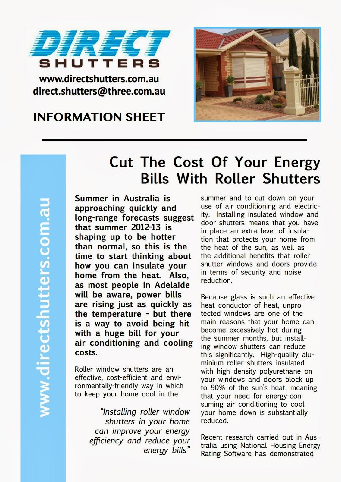 Adelaide roller shutters