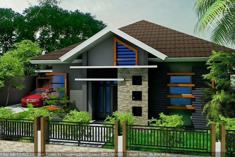 Gambar desain atap rumah minimalis sederhana