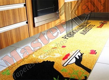 Modelos de tapetes personalizados para lojas