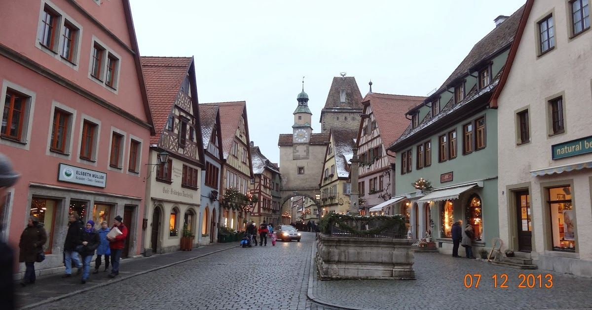Mundoteveo rothenburg ob der tauber alemania parte 2 - Rothenburg ob der tauber alemania ...
