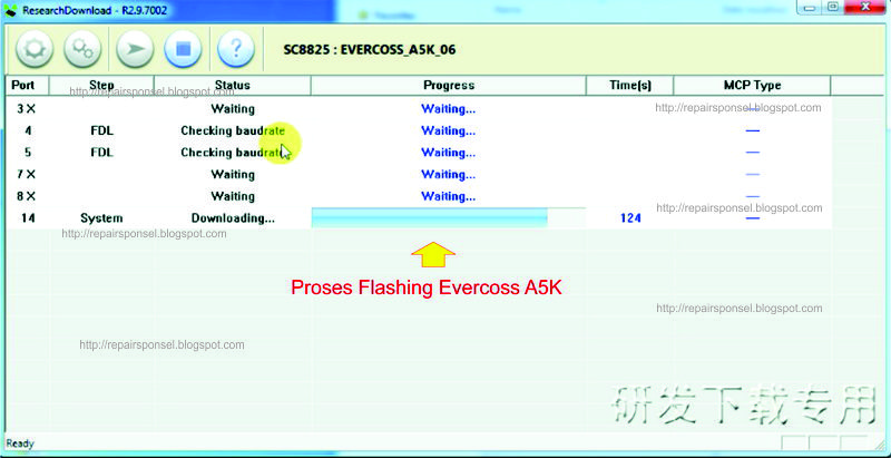 software: cara flashing evercoss a5k