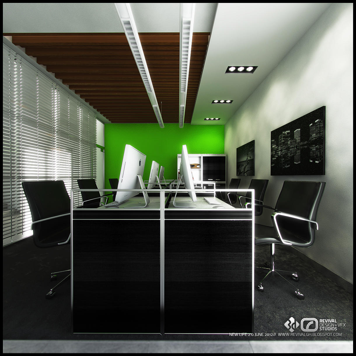 Sinopec interiors 3d visualization r d v s Interior design visualization