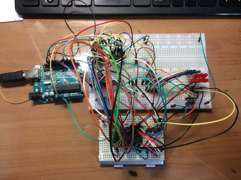 Arduinoでパラレルeepromリーダ・ライターもどきを作ってみた