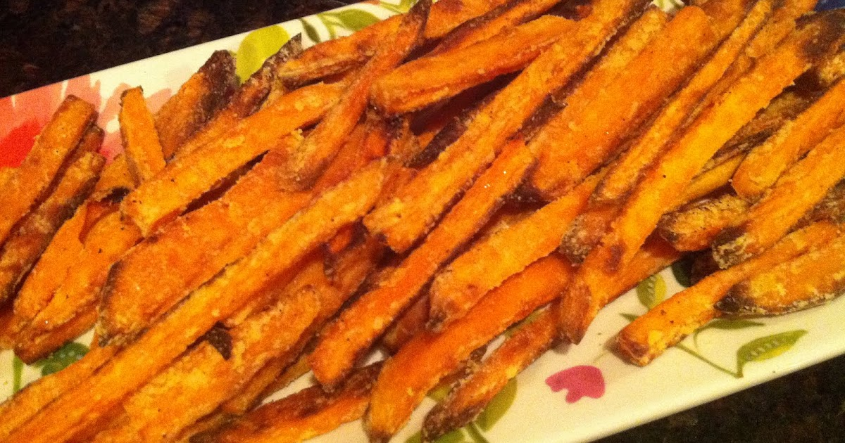 Watch Oven-Baked Sweet Potato Fries video