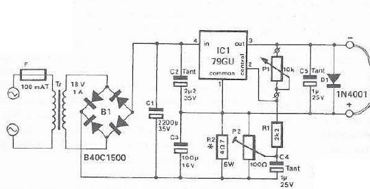 mini drill speed regulator using voltage regulator