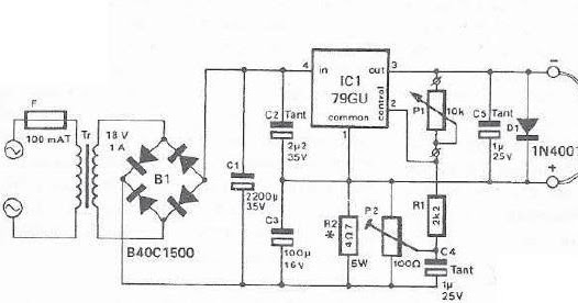 mini drill speed regulator using voltage regulator