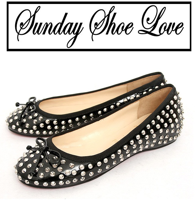 I Want You In My Closet: Christian Louboutins Studded Flats