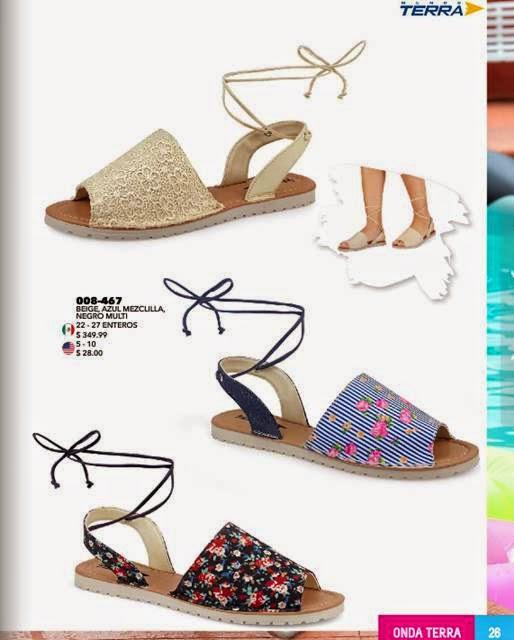 Elegantes sandalias Onda Terra PV15