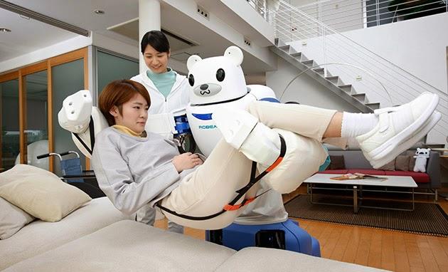 Robear, Robot Beruang Kutub Imut Pengasuh Lansia