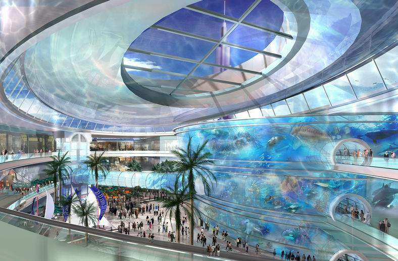 World visits dubai mall the world largest shopping mall for Best boutiques in the world