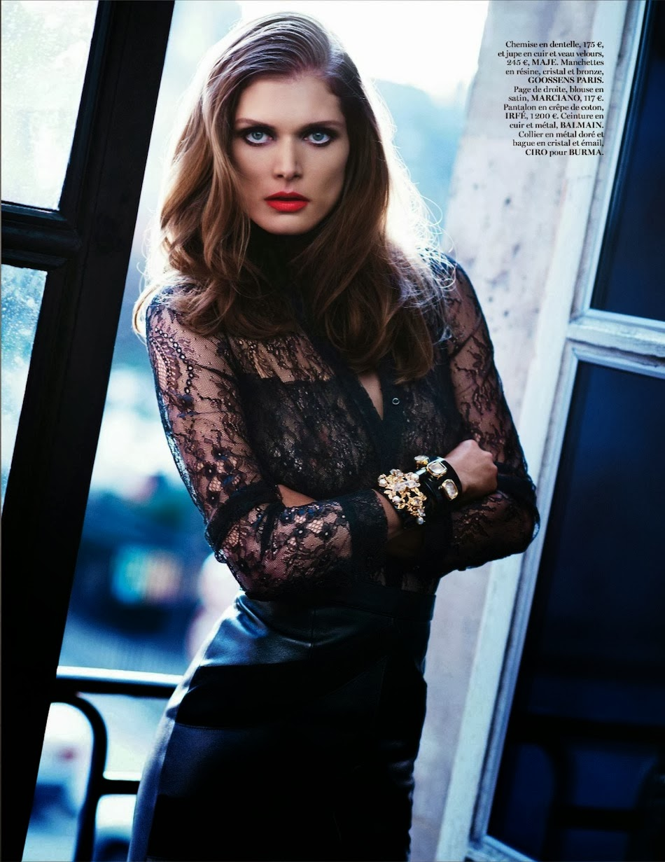 Malgosia Bela HQ Pictures Vogue Paris Magazine Photoshoot March 2014 By Katja Rahlwes