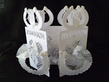 Wedding Horseshoe Door Card