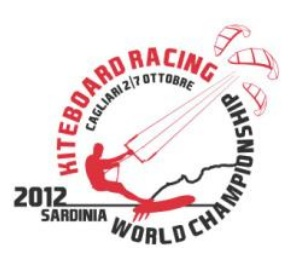 VELA-Mundial de Kite Race Cagliari 2012